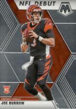 2020 Mosaic Joe Burrow NFL Debut Rookie Card #261 Cincinnati Bengals RC