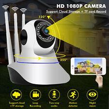 1080P HD Wireless IP Baby Monitor Camera 2-Way Audio Night Vision Nanny Cam US