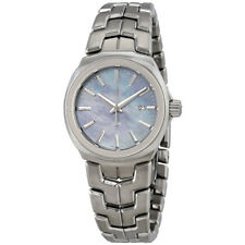 Tag Heuer Link Blue Mother of Pearl Dial Ladies Stainless Steel Watch
