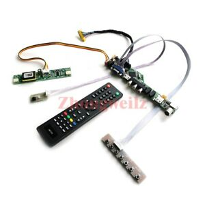 For LM171W02-TLB2 30-Pin LVDS panel 1440*900 2CCFL TV controller board drive kit