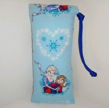 """New 8"""" X 4"""" Padded Pipe Bag / Pouch / Case / Glass Bowl Bag"""