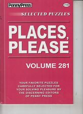 PennyPress Selected Puzzles 2016 Places, Please Volume 281