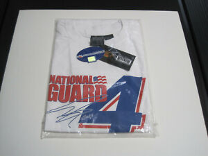 Dan Wheldon # 4 T-Shirt - Panther Racing - Indycar National Guard Size XL NEW!