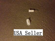 Iphone 7 6 6s plus 5 5S 5C White Soft 1 set dust cap plug ear phone charger slot
