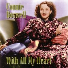 CONNIE BOSWELL - WITH ALL MY HEART  CD NEW+