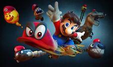 Mario Poster Length 800 mm Height: 500 mm SKU: 9558