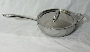 Williams Sonoma THERMO-CLAD Stainless 5 QT Saute Essentials Pan