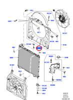 Genuine LAND ROVER  Range Rover Sport Right Radiator Pin LR034571