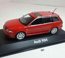 1/43 Minichamps Audi RS4 Red Diecast Model Car