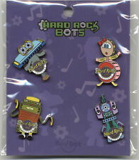 Hard Rock Cafe Chicago Hotel Hard Rock Bots Pin Set