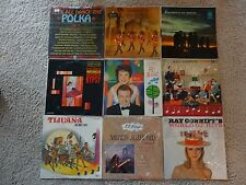 Lot Records x9 Steve Lawrence Roger Wagner Ken Griffin Ray Conniff Winterhalter
