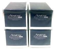 4 x AVON Anew Platinum Define & Contour Night Cream 50ml - 1.7oz SET !