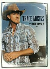 Trace Adkins - Video Hits 2, DVD, 2005, Includes Songs About Me, Rough & Ready