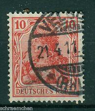 Deutsches Reich 86 Ia , o , Bfst , geprüft