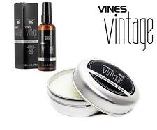 Vines Vintage DUO PACK Beard Oil 100ml & Moustache Wax 25ml SAMEDAY DISPATCH
