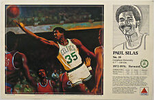 Paul Silas CELTICS Boston Celtics 1990 Basketball CITGO poster Mike Wimmer art