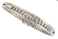 Gorgeous 18k White Gold Diamond White Gold Bracelet
