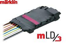 Märklin H0 60982 Décodeur de locomotive mLD3 avec harnais pour + TRIX - NEUF +