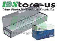 Datacard 534000-002 Color Ribbon Kit YMCKT 250 Images & 500 GQ Blank PVC Cards