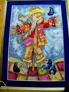 "U.K. Cross Stitch Gold Magazine Cross Stitch Pattern ""JOLLY SCARECROW"""