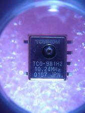 TOYOCOM TCO-981H2 10.24MHz Crystal Oscillator TCXO 3V 5%  **NEW**  Qty.1