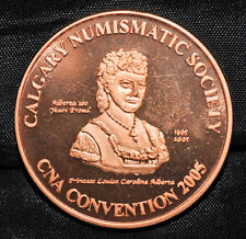 2005 CNA Convention Medal, Calgary, AB - Proof