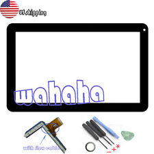 US New Touch Screen Digitizer panel Fr 10.1'' Linsay KitKat F-10XHD Tablet 50pin