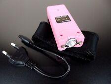 Electro Shocker  Self-defense Electric Shock LED Flashlight Woman Pink