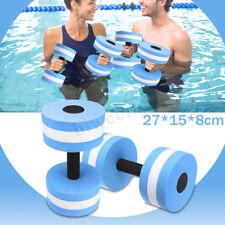 Aqua Fitness Barbells Aquatic Dumbells Swiming Pool Light Weights Water