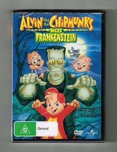 Alvin and the Chipmunks Meet Frankenstein Dvd - Brand New & Sealed