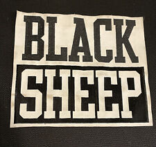 Vtg Black Sheep Patch Backpatch 90's Rap Hip Hop De La Soul Tribe Mf Doom Rare