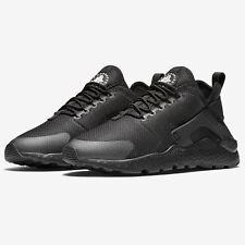 Nike Womens Air Huarache Run Ultra Trainers Triple Black Shoes ~ SIZE 4.5 ~ SALE