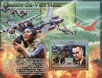 Guinea Military Stamps 2007 MNH Vietnam War Operation Junction City 1v S/S I