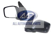 Nissan Navara D40 05-15 *NEW* Left Side Door Mirror Black Manual Adjust