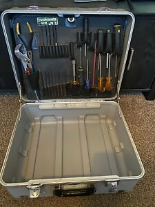 Jensen Tools Hard Case With Tools. Tool Box. Please Read