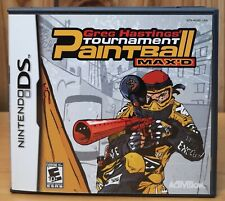 Greg Hastings Tournament Paintball MAX'D (DS, 2005, Activision) *Complete E10+