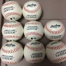 (8-Balls) New Rawlings Official (OLB3) League Baseball (5 oz., 9 in.) Loc#EB