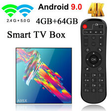 A95X R3 Smart Android 9.0 TV Box RK3318 Quad Core 4GB+64GB UHD 4K H.265 5G Wifi