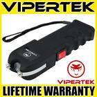 VIPERTEK Stun Gun VTS-989 - 600 BV Heavy Duty Rechargeable LED Flashlight <br/> 560 Billion Stun Gun + LIFETIME WARRANTY + FREE Case