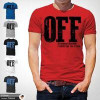 53d4a183 F*ck Off T-Shirt Funny Mens Explicit Adult Rude Swear Teenager Xmas Gift