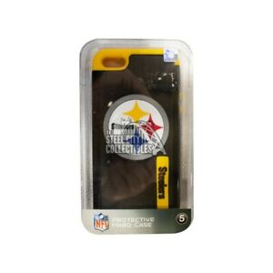Pittsburgh Steelers iPhone 5 Black Protective Hard Case