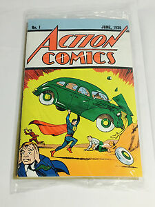 DC ACTION COMICS #1 Vol. 1 Loot Crate Special Edition Reprint With Aunthenticity