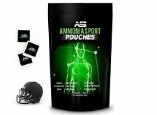 AmmoniaSport Athletic Smelling Salts - Pouches (20) - Ammonia Inhalant - [Smelli