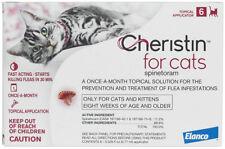 Cheristin Topical Flea Prevention for Cats 6ct by Elanco