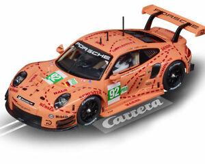 """Carrera 30964 - Digital 132 Porsche 911 RSR """"Pink Pig Design, """"No.92"""" Auto NEU"""