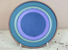 KMK Kupfermühle Keramik Serie Viola Dekor 21000 Untertasse Teller 15cmØ von 1968