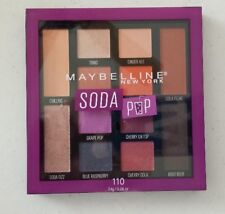 New 1 X Maybelline Soda Pop Eye Shadow Palette #110