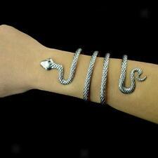 Bracelet Ouvert Forme de Serpent Bijoux Accessoire pour Costume Ancien