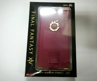 FF Final Fantasy XIV leather Smartphone case with metal parts red JAPAN 2019