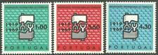 Portugal 1969 - 50 Years International Work Organization set MNH